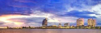 Fotografie Bremerhaven Skyline 2 © 2009 Adrian Wackernah - 000248-31