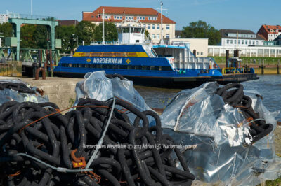 Fotografie Bremerhaven Weserfähre © 2013 Adrian J.-G. Wackernah - 001196