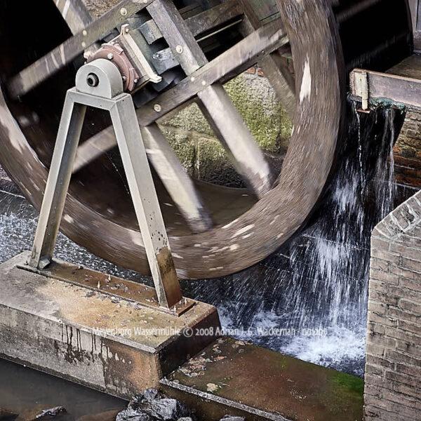 Fotografie Meyenburg Wassermühle © 2008 Adrian J.-G. Wackernah - 001209