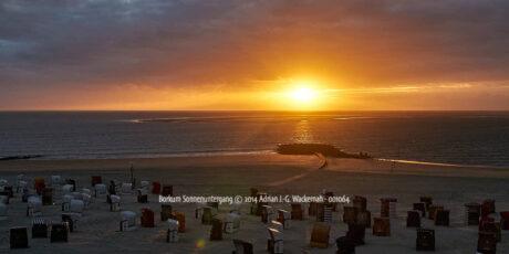 Produktbild Borkum Sonnenuntergang © 2014 Adrian J.-G. Wackernah - 001064