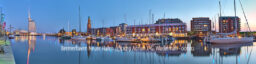 Produktbild Bremerhaven Neuer Hafen © 2019 Adrian J.-G. Wackernah - 001212