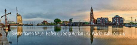 Produktbild Bremerhaven Neuer Hafen © 2019 Adrian J.-G. Wackernah - 001214
