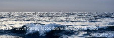 Produktbild Fotografie Baltrum Brandung © 2006 Ilona Weinhold-Wackernah - 001253
