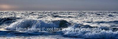 Produktbild Fotografie Baltrum Brandung © 2006 Ilona Weinhold-Wackernah - 001254