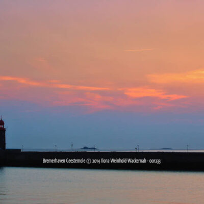 Produktbild Bremerhaven Geestemole © 2014 Ilona Weinhold-Wackernah - 001233