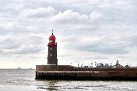 Produktbild Bremerhaven Geestemoleleuchtturm © 2010 Ilona Weinhold-Wackernah - 001230
