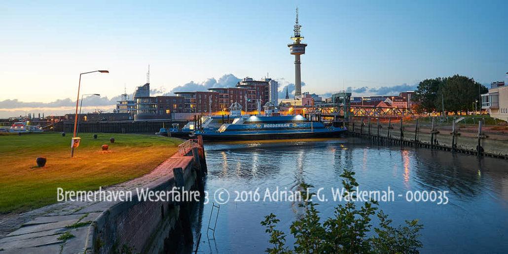 Produktbild Bremerhaven Weserfähre 3 © 2016 Adrian J.-G. Wackernah - 000035