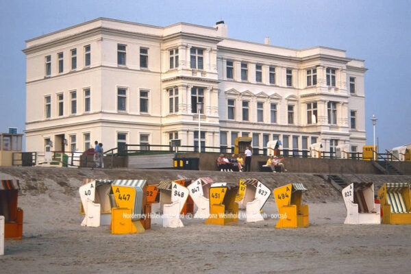 Produktbild Norderney Hotel am Strand © 2003 Ilona Weinhold-Wackernah - 001236