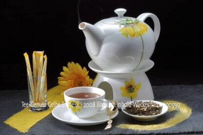 Produktbild Fotografie Tee-Genuss Gelbe Blüte © 2008 Ilona Weinhold-Wackernah - 000930