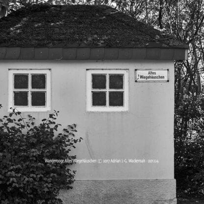 Produktbild Wangerooge Altes Wiegehäuschen © 2017 Adrian J.-G. Wackernah - 001224
