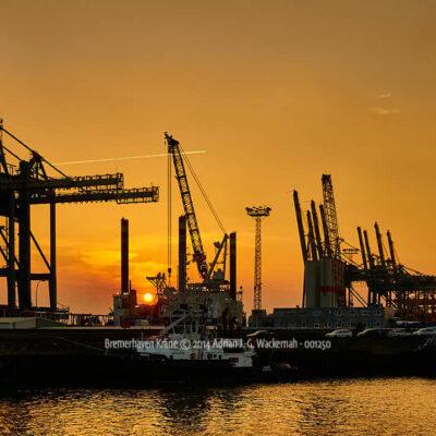 Produktbild Fotografie Bremerhaven Kräne © 2014 Adrian J.-G. Wackernah - 001250