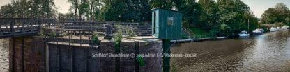 Produktbild Schiffdorf Stauschleuse © 2019 Adrian J.-G. Wackernah - 001260