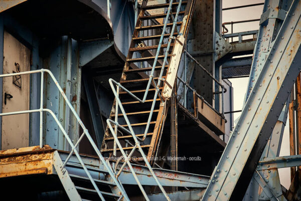 Produktbild Fotografie Bremerhaven Kran © 2019 Adrian J.-G. Wackernah - 001282