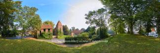 Produktbild Bremerhaven Wulsdorfer Kirche © 2015 Adrian J.-G. Wackernah - 000888