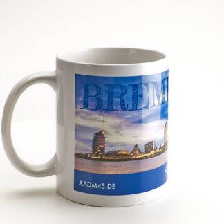 Produktbild Fototasse »Bremerhaven Skyline« © Adrian Wackernah