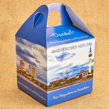 Produktbild Geschenkbox »Bremerhaven Skyline« © Adrian Wackernah