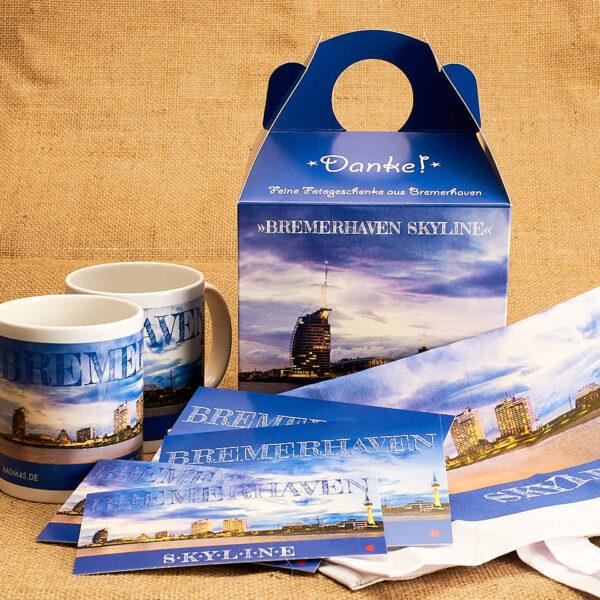Produktbild Kunstbox »Bremerhaven Skyline« © Adrian Wackernah