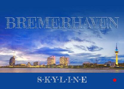 Produktbild Postkarte »Bremerhaven Skyline«