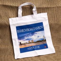 Produktbild Stofftragetasche »Bremerhaven Skyline« © Adrian Wackernah