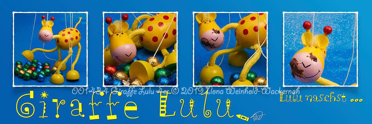 Produktbild 001434 Giraffe Lulu 4er © 2019 Ilona Weinhold-Wackernah