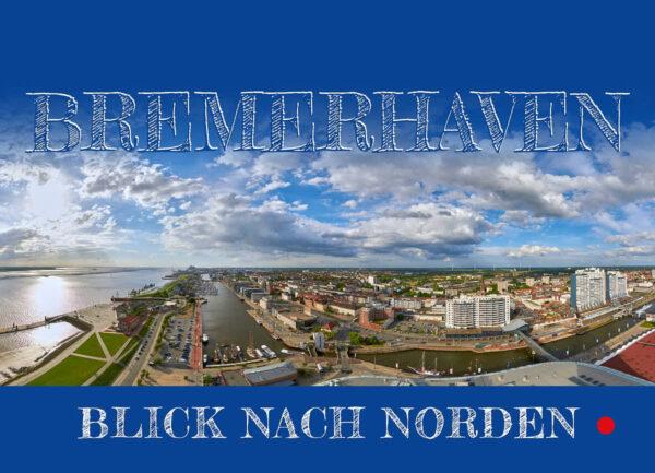 Produktbild Bremerhaven Blick nach Norden Postkarte