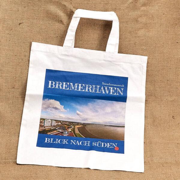 Stofftragetasche Motiv Bremerhaven Blick nach Süden