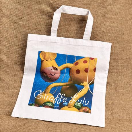 Stofftragetasche ein Motiv Giraffe Lulu