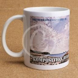 Fototasse »Kompositionen Helgoland Leuchtturm«