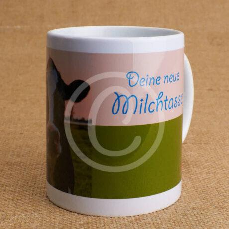 Fototasse »Deine neue Milchtasse«