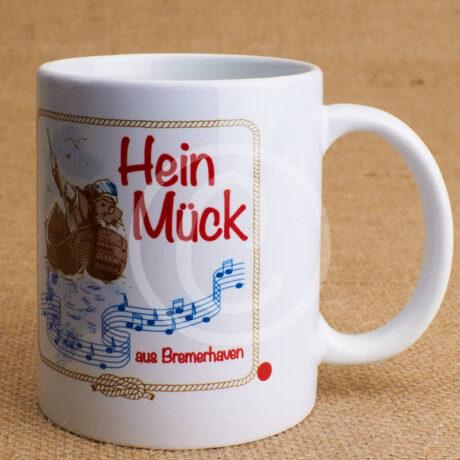 Fototasse »Hein Mück aus Bremerhaven mit Boot«