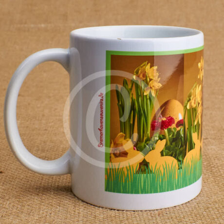Produktbild Fototasse Ostern Hasenrally