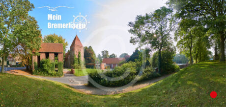 Fotokarte Mein Bremerhaven Kirche Wulsdorf