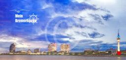 Fotokarte Mein Bremerhaven Skyline