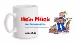 Produktbild Fototasse »Hein Mück aus Bremerhaven 1« © 2021 links