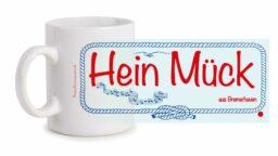 Fototasse »Hein Mück aus Bremerhaven«