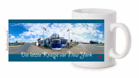 Fototasse »Bremerhaven Die letzte Kneipe vor New York«