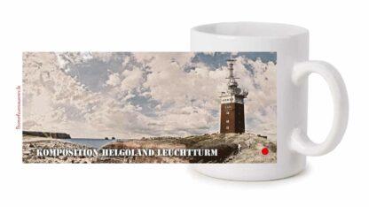Fototasse »Komposition Helgoland Leuchtturm«
