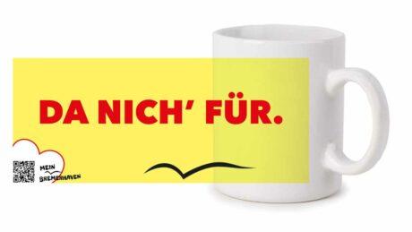 Produktbild Fototasse Bremerhavenschnack »Da nich für« © 2021